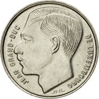 Monnaie, Luxembourg, Jean, Franc, 1990, TTB, Nickel Plated Steel, KM:63 - Luxembourg