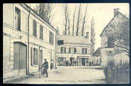 Cpa Du 37 Le Petit Pressigny Rue De L' école  SEPT18-18 - Le Grand-Pressigny