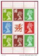 GB 1992 Se Tenant Block Machins And Regionals  SG X1020 X 2 - 1451a - 1514a - W49 X 2 - W60 X 2 - UM / MNH - 1952-.... (Elizabeth II)