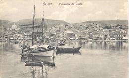Ansichtskarte- Aus Der Türkei -Metelin  -   Aus Dem Jahre  1915 - Türkei
