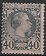MONACO    -    1885 .   Y&T N° 7 (*). - Monaco