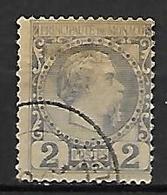 MONACO    -    1885 .   Y&T N° 2 Oblitéré. - Monaco