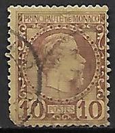 MONACO    -    1885 .   Y&T N° 4 Oblitéré. - Monaco