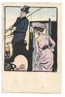 """Jehan TESTEVUIDE (1873-1922): CPA """"Collection Des Cent"""" Editeur E.G. Paris Série 8 """"Marguerites"""" (n°89) """"Fouette Cocher"""" - Autres Illustrateurs"""