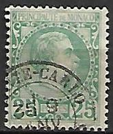 MONACO    -    1885 .   Y&T N° 6 Oblitéré. - Monaco