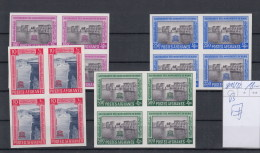 Afghanistan Michel Cat.No. Mnh/** 816/822B As Blocs Of Four - Afghanistan