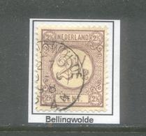Kleinrond Bellingwolde Op Nvph 33a    CW 35,- - 1891-1948 (Wilhelmine)