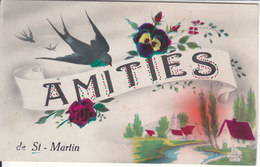 AMITIES DE ST-MARTIN - ILLUSTRATION. N/C - VS Valais