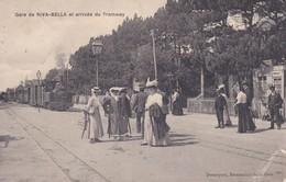 [14] Calvados > Riva Bella   Arrivée Du Tramway - Riva Bella