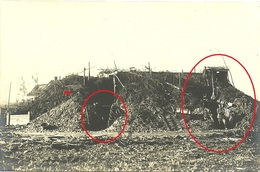 Blankkaart - See - Stellung Blinkerstation - Klerken - Woumen - West Flandern Houthulst - German Photocard WWI-1.wk-wk1 - Guerra 1914-18