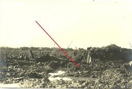 Blankkaart - See - Vordere Linie - Clerken - Klerken - Woumen - West Flandern Houthulst - German Photocard WWI-1.wk-wk1 - Guerra 1914-18