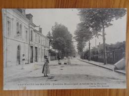 SERMAIZE LES BAINS : THEATRE MUNICIPAL, AVENUE DE LA SOURCE - Sermaize-les-Bains