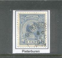 Kleinrond Pieterburen Op Nvph 35    CW 19,- - 1891-1948 (Wilhelmine)