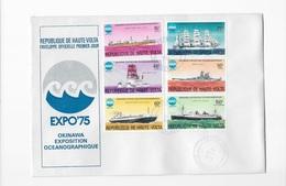 Enveloppes Premier Jour Expo 75 Okinawa Exposition Océanographique - Universal Expositions