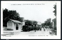 Réédition Ancienne D'une CPA (Photo) - Taulignan - Arrivée En Ville (n° 9 Bis) - Voir 2 Scans - Other Municipalities