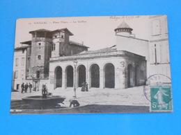 """81 ) Gaillac N° 14 - Le Griffon """" La Fontaine """" : Année 1908 : EDIT : - Gaillac"""