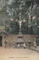 34/ Bessan -  Croix De La Mission  - Colorisée Année 30 - France