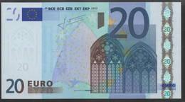 € 20  H SLOVENIA  E004  TRICHET  UNC - EURO