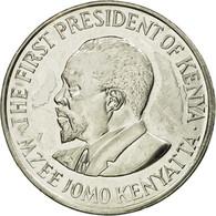 Monnaie, Kenya, Shilling, 2005, British Royal Mint, TTB, Nickel Plated Steel - Kenya