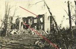 Chateau - Blankkaart - See -  Klerken - Woumen - West Flandern Houthulst - German Photocard WWI-1.wk-wk1 - Bélgica