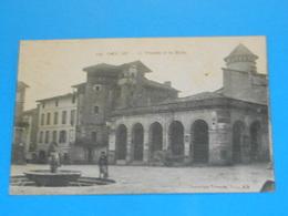81 ) Gaillac - N° 343 - La Fontaine Et Les Halles  : Année  : EDIT : Poux - Gaillac