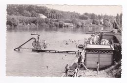91 Corbeil Essonnes N°9091 Les Bords De Seine La Baignade Municipale Enfants Jeux D'eau Plongeoir Tobogan - Corbeil Essonnes