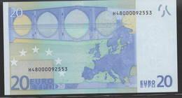 € 20  H SLOVENIA  E003  TRICHET  UNC - EURO