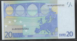 € 20  H480000  SLOVENIA  E003  TRICHET  UNC - EURO