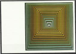 Vasarely, Vonal Fegn, 1968, Vasarely Museum, Pécs, Hungary. - Peintures & Tableaux