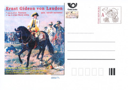 Rep. Ceca / Cart. Postali (Pre2017/03) Ernst Gideon Von Laudon (1717-1790) Maresciallo Austriaco; Battaglia Di Kunersdor - Professioni