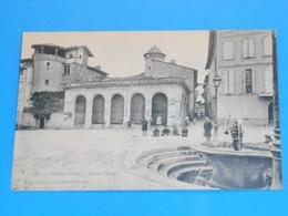 """81 ) Gaillac - N° 311 - Place Thier """" La Fontaine """" : Année 1907 : EDIT : Déjean & Vaissié - Gaillac"""