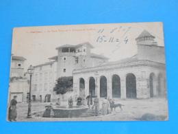 81 ) Gaillac - N° 1 - La Place Thiers Et La Fontaine Du Griffont : Année 1909 : EDIT : Nouvelles Galeries - Gaillac