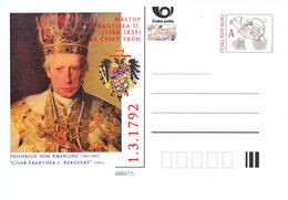Rep. Ceca / Cart. Postali (Pre2017/05) Francesco II E I (1768-1835) Imperatore E Re; Pittore: Friedrich Von Amerling - Minerali