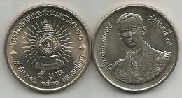 Thailand 5 Baht 1987. Y#195 60th Anniversary Of Rama IX - Thaïlande