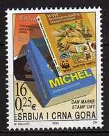 Yugoslavia.Serbia & Montenegro 2003 Stamp Day. WWF Catalog. MNH - 1992-2003 Federale Republiek Joegoslavië