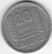 Algérie - 20 Francs 1949 - Algérie