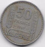Algérie - 50 Francs 1949 - Algérie