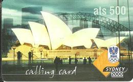 Prepaid: IDT Sydney 2000 - Oesterreich