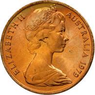 Monnaie, Australie, Elizabeth II, Cent, 1979, SUP, Bronze, KM:62 - Monnaie Décimale (1966-...)
