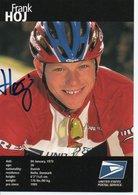 CYCLISME TOUR  DE  FRANCE    AUTOGRAPHE   FRANK HOJ   T - Cycling