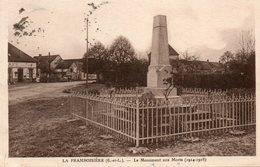 La  Framboisière -    Le  Monument  Aux  Morts. - Autres Communes