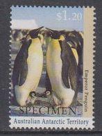 """AAT 1992 Emperor Penguin 1v  """"Specimen"""" ** Mnh (40846) - Australisch Antarctisch Territorium (AAT)"""