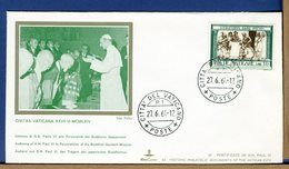 VATICANO - VISITE UDIENZE - 1964 - VISITA  PERSONALITA' DEL BUDDISMO GIAPPONESE - Papi