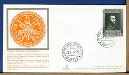 VATICANO - VISITE UDIENZE - 1964 - VISITA  ALTEZZA FRA ANGELO DE MAJONA - GRAN MAESTRO SMOM - Papi