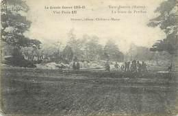 - Marne-ref-A775- Trou Bricot - Route De Perthes Les Hurlus - Militaires - Miltaria - Guerre 1914-18 - - Autres Communes