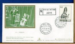 VATICANO - VISITE UDIENZE - 1964 -   VISITA  PRESIDENTE REPUBBLICA ITALIANA  ANTONIO  SEGNI - Popes