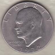 Etats Unis .1 Dollar 1972 D Denvers. Eisenhower - 1971-1978: Eisenhower