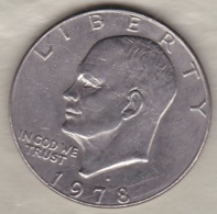 Etats Unis .1 Dollar 1978 D Denvers. Eisenhower . - 1971-1978: Eisenhower