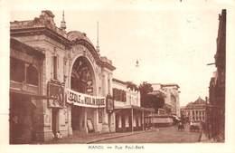 P-T2-18-5801  : NORD-VIETNAM. HANOÏ.  SALLE DE CINEMA. RUE PAUL BERT - Cinema