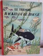 TINTIN  LE TRÉSOR DE RACKHAM LE ROUGE B2  ©1948 - Tintin